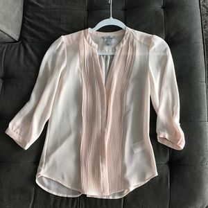 Blush Color Stunning Sheer Blouse from H&M